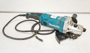 Makita GA950 110v 230mm angle grinder ** Plug cut off **