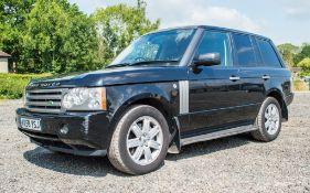 Range Rover VOGUE TDV8 3628cc diesel 5 door estate car Registration number: MX58 YSJ Date of