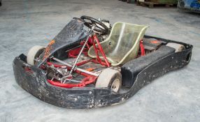 BIZ petrol driven go -kart **No VAT on hammer price, but VAT will be charged on the 10% buyers