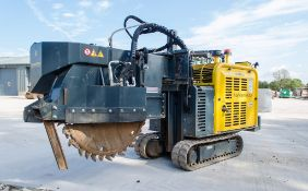 GarbinGroup Fiber 450E diesel driven tracked micro trencher Year: 2020 S/N: 1726 Recorded Hours: