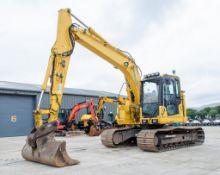Komatsu PC138 US-11 13 tonne steel tracked excavator Year: 2018 S/N: F50563 Recorded Hours: 5160