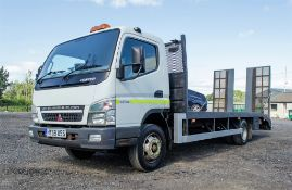 Mitsubishi Fuso Canter TC18 4899cc diesel 7.5 tonne plant lorry Registration Number: HY59 USS Date