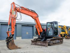 Hitachi Zaxis 85 USB-5 reduced tail swing 8.5 tonne steel tracked/rubber pad excavator