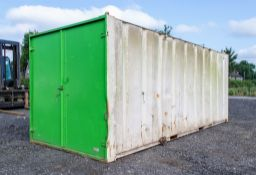 21ft x 9ft steel tool store site unit A649135