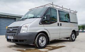 Ford Transit 100 T280 FWD SWB 2.2 TDCI crew cab panel van