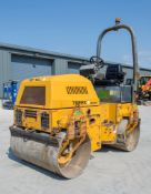 Benford Terex TV1200-1 double drum ride on roller Year: 2005 S/N: E502CC067 Recorded Hours: 2008