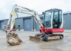Takeuchi TB228 2.8 tonne rubber tracked mini excavator Year: 2015 S/N: 122804283 Recorded Hours: