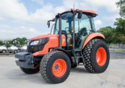 Kubota M6060 hydraulic shuttle 4x4 diesel tractor Registration Number: PN63 OBT Date of