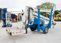 SEV Arial Access K13HS battery electric fast tow mobile articulated boom access platform Year: