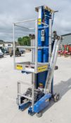 Upright UL31 battery electric push around mast access platform ** Batteries not taking charge **