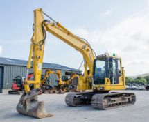 Komatsu PC138US-11 13 tonne steel tracked excavator Year: 2017 S/N: F50393 Recorded Hours: 3961