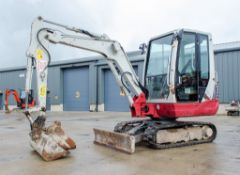Takeuchi TB228 2.8 tonne rubber tracked mini excavator Year: 2015 S/N: 122804197 Recorded Hours: