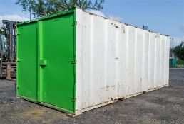 21ft x 9ft steel tool store site unit A541369