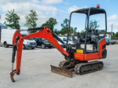 Kubota KX015-4 1.5 tonne rubber tracked mini excavator Year: 2011 S/N: 55621 Recorded hours: 3130
