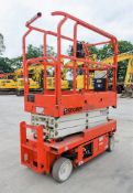Snorkel S1930E battery electric scissor lift access platform Year: 2012 S/N: 000850 Recorded