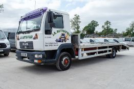 MAN LE8.180 4 x 2 7.5 tonne beaver tail plant lorry Registration Number: NX04 KWH Date of