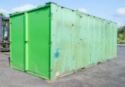 21ft x 9ft steel tool store site unit A553096