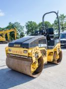 Bomag BW120 AD-4 double drum ride on roller Year: 2007 S/N: 25154 Recorded Hours: 1602 WSS16352 HS