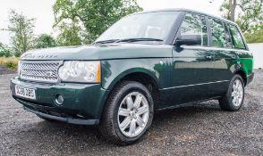 Range Rover VOGUE TDV8 3.6diesel 5 door estate car Registration number: DG58 OBS Date of