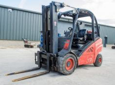 Linde H25T 2.5 tonne gas powered fork lift truck Year: 2008 S/N: H2X393WO6494 Recorded Hours: 4970