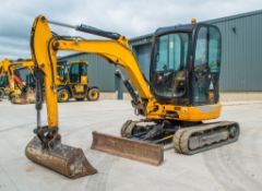 JCB 8030 3 tonne rubber tracked excavator Year: 2013 S/N: 2021801 Recorded Hours; 3361 ** Right