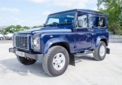 Landrover Defender 90 XS TD 2198cc 4x4 utility vehicle Registration Number: CE62 NDK Date of
