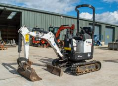 Bobcat E102 1 tonne rubber tracked micro excavator