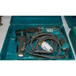 Makita HR2630 100v SDS hammer drill c/w carry case 18031171
