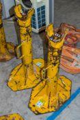 2 - 6 tonne axle/cable drum stands L443Y421