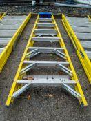 8 tread glass fibre framed step ladder A696346