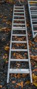 12 tread aluminium roof ladder A95514