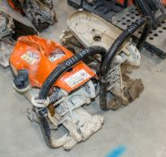 2- Stihl petrol driven cut off saw** For spares **