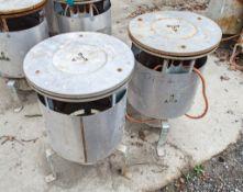 2 - Bullfinch calor gas dust bin heater