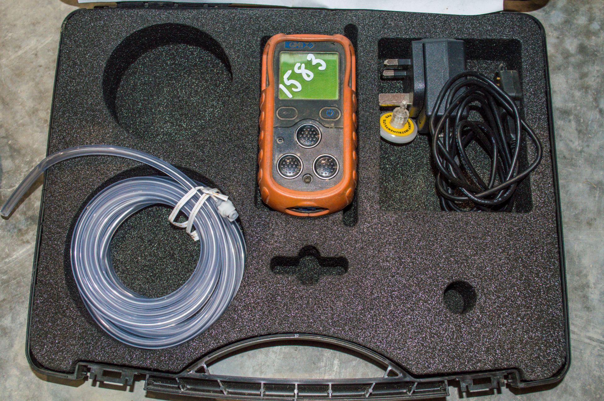 GMI gas detection alarm c/w carry case LM903109