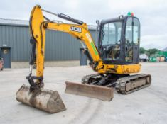JCB 8030 ZTS 3 tonne rubber tracked mini excavator Year: 2013 S/N: 2021782 Recorded Hours: 2549