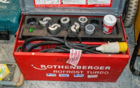 Rothenberger ro- frost turbo pipe freezing kit A752162