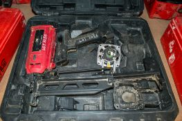 Montana gass powered nail gun ** For spares** c/w carry case 04241123