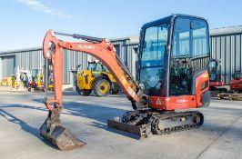 Kubota KX016-4 1.5 tonne rubber tracked mini excavator Year: 2015 S/N: 59296 Recorded Hours: 1652