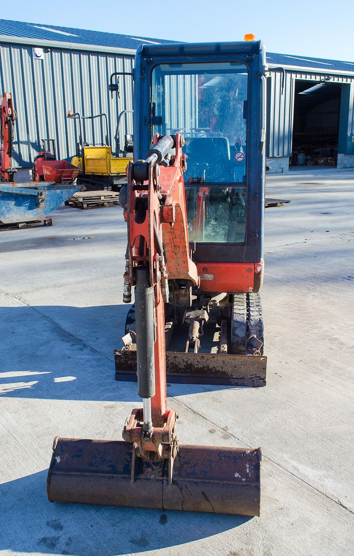 Kubota KX016-4 1.5 tonne rubber tracked mini excavator Year: 2015 S/N: 58688 Recorded Hours: 1736 - Image 5 of 19