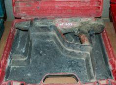 Hilti DX460 nail gun c/w carry case 1709HLT014