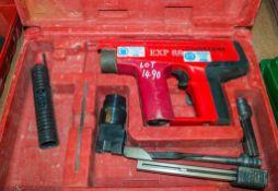 EXP 88 nail gun c/w carry case 04091341 ** In disrepair **
