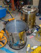 2 - 240v water boilers