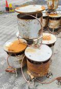 5 - Bullfinch calor gas dust bin heater
