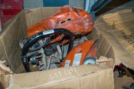 Stihl TS410 petrol driven cut off saw ** In disrepair **