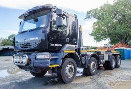 Renault Kerax 430 Euro 5 32 tonne 8x4 hook loader lorry Registration Number: PL63 FTJ Date of