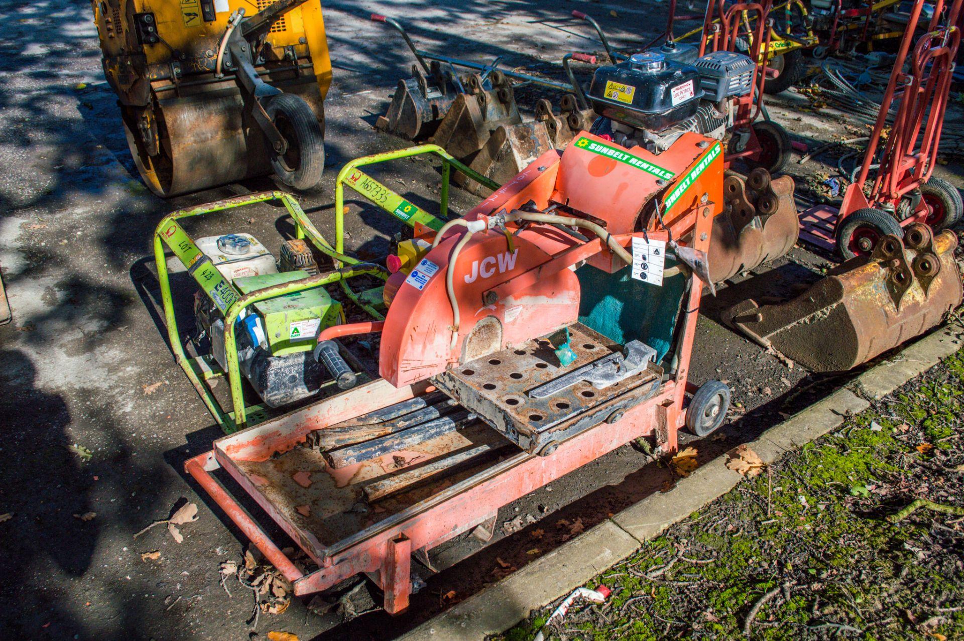 Clipper petrol driven site chop saw A784461