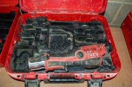 Novopress Aco102 cordless mini press tool c/w carry case PTH971