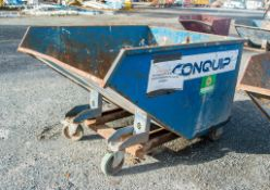 Fork lift tipping skip A943999