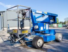 Nifty HR12 NDE diesel driven/battery electric articulated boom lift Year: 2006 S/N: 12-13635