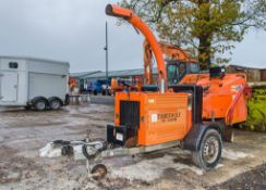 Timberwolf TW150DHB fast tow diesel driven wood chipper Recorded Hours: 1002 21577002